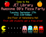 Awesome 80's Pizza Party