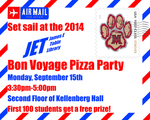 Bon Voyage Pizza Party