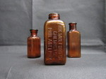 Amber Medicine Bottles by Normadeane Armstrong Ph.D, A.N.P.