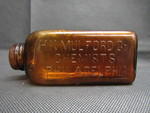 Amber Medicine Bottles - 2 by Normadeane Armstrong Ph.D, A.N.P.