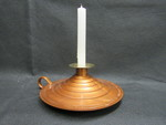 Candle Holder with Candle by Normadeane Armstrong Ph.D, A.N.P.