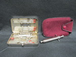 Nurses Syringe and Vials in Case by Normadeane Armstrong Ph.D, A.N.P.