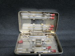 Nurses Syringe and Vials in Case - 1 by Normadeane Armstrong Ph.D, A.N.P.