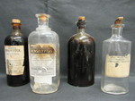 Bottles: Alcohol Tincture by Normadeane Armstrong Ph.D, A.N.P.