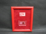 Framed Stamp and Pin by Normadeane Armstrong Ph.D, A.N.P.