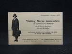 Visiting Nurse Association Card by Normadeane Armstrong Ph.D, A.N.P.