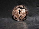 Collectible Polio Vaccination Coin by Normadeane Armstrong Ph.D, A.N.P.