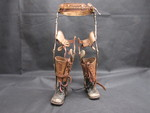 Double Leg Brace by Normadeane Armstrong Ph.D, A.N.P.