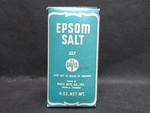 Epsom Salt Box by Normadeane Armstrong Ph.D, A.N.P.