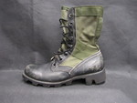 Military Jungle Boot - 1 by Normadeane Armstrong Ph.D, A.N.P.