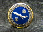 Air Force Nursing Coin - 1 by Normadeane Armstrong Ph.D, A.N.P.