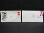 Aids Awareness Envelopes by Normadeane Armstrong Ph.D, A.N.P.