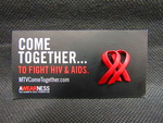 AIDS Awareness Pin B by Normadeane Armstrong Ph.D, A.N.P.