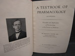 A Textbook of Pharmacology - 1