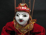 Burmese Puppet - 2 by Normadeane Armstrong Ph.D, A.N.P.