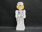 Toy: Wooden Nurse Figurine by Normadeane Armstrong Ph.D, A.N.P.