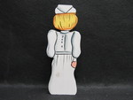 Toy: Wooden Nurse Figurine - 1 by Normadeane Armstrong Ph.D, A.N.P.