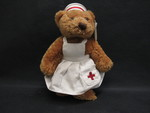 Toy: Nurse Bean Bag Bear by Normadeane Armstrong Ph.D, A.N.P.