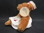Toy: Nurse Bean Bag Bear - 2 by Normadeane Armstrong Ph.D, A.N.P.