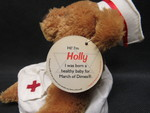 Toy: Nurse Bean Bag Bear - 3 by Normadeane Armstrong Ph.D, A.N.P.
